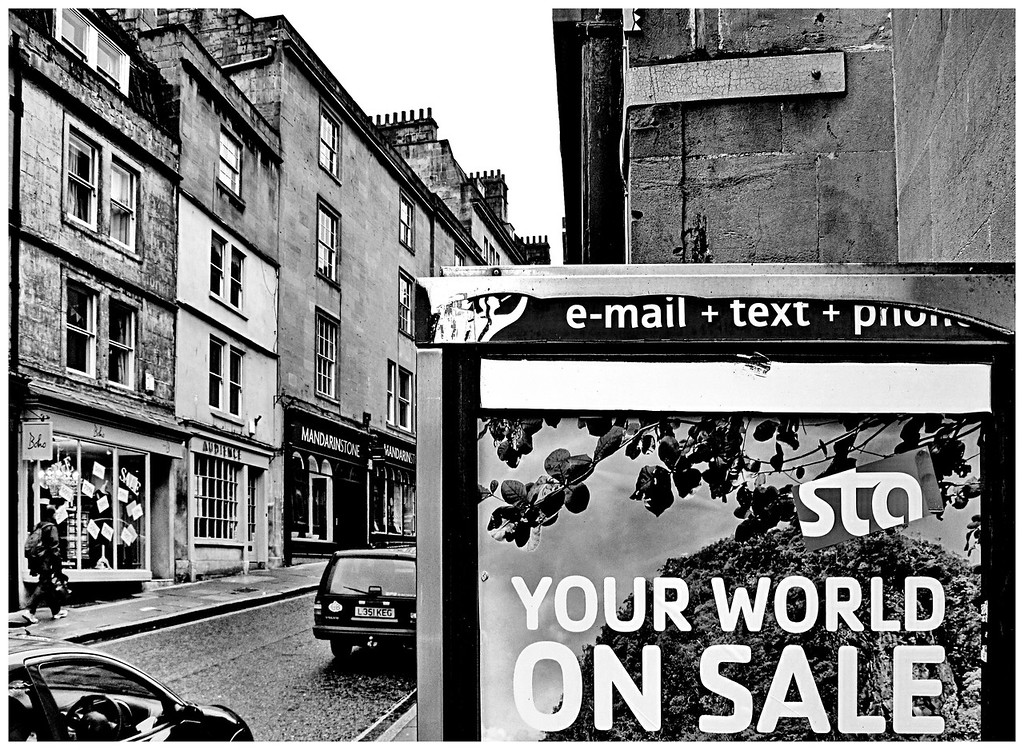 Your World on Sale - Saracen Street Bath