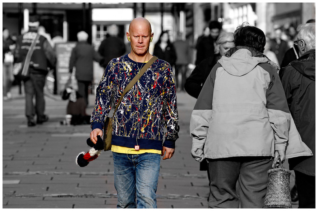 MIcheal Stripe in Pollock Shirt - Union Street Bath