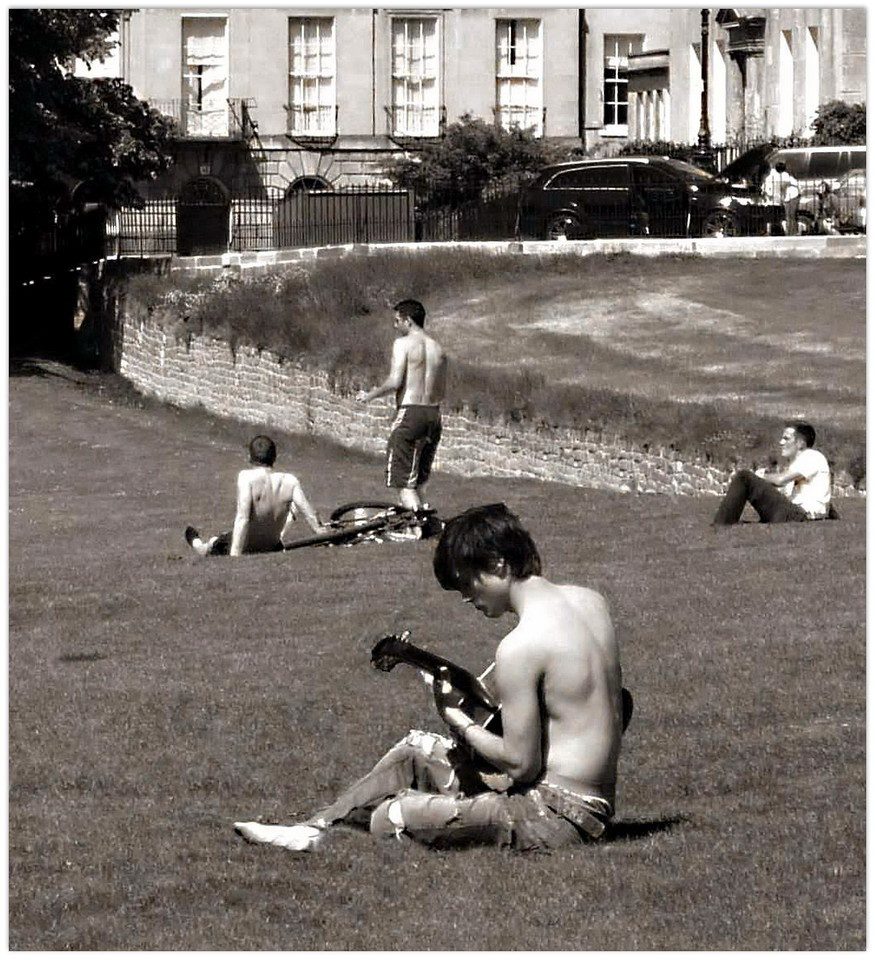 Summer in the City - Royal Crescent Lawns (2009)