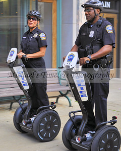 Buffalo Police Officers on Segways 8 x 10