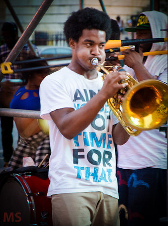 Brass connection Band