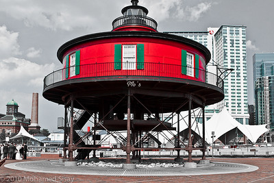 Light house at Baltimore Water front Baltimore Waterfront