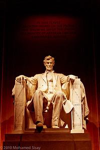 Lincoln Memorial. Washington, D.C.