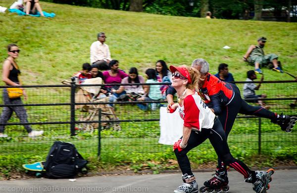NYC Central Park Skating