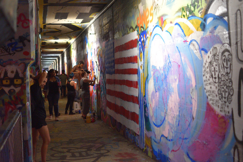 Krog Street tunnel. Atlanta