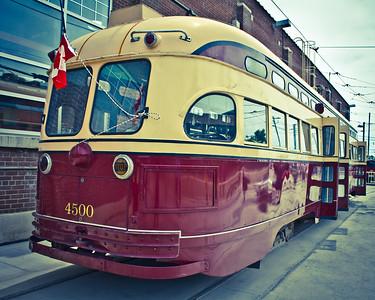 1951 TTC Streetcar