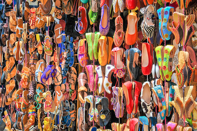Market shoes ... Tangier ... Morocco