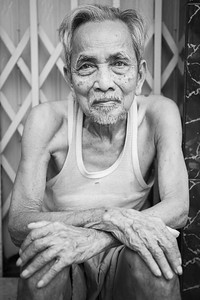 Street portrait ... HCMC ... Vietnam