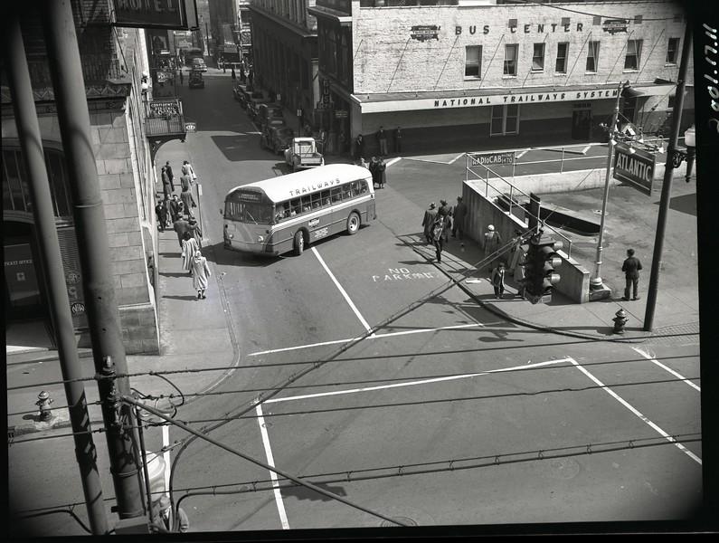 Trailways Bus Depot on Eighth Street below Church Street  VII (09610)