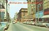 Postcard 1960's Main Street (05029)