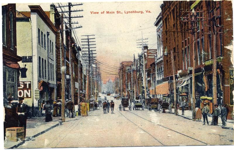 A Postcard View of Main Street (03024)