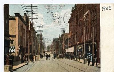 Postcard of Main Street (05035)