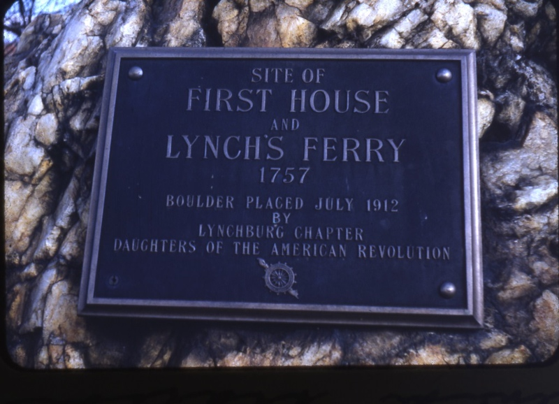 First House & Lynch's Ferry Marker  (098