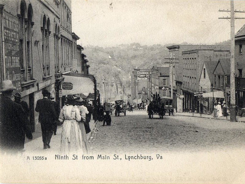 Postcard Ninth Street (05078)