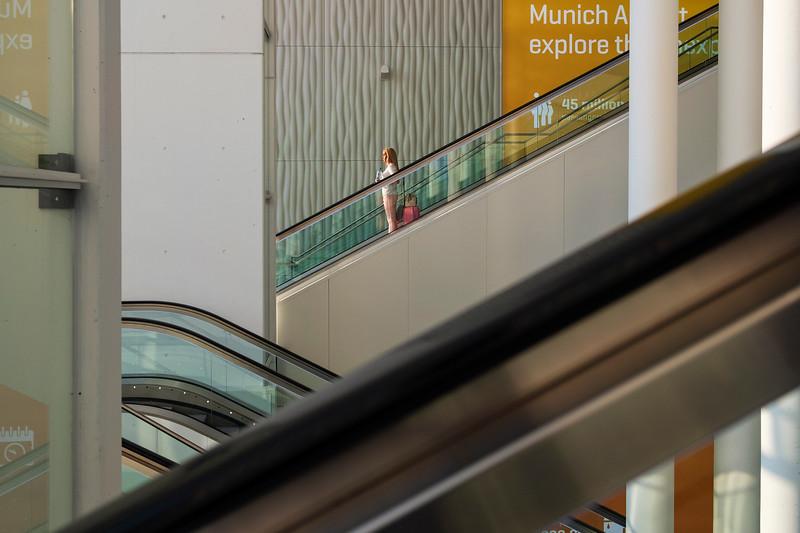 Flughafen München. Munich, 2019.