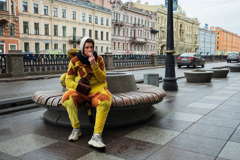 """Covid Diaries"", Saint Petersburg, March, 2020."