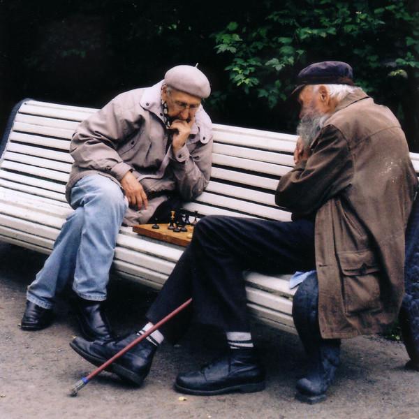 Chess Players. Saint Petersburg, 2010.