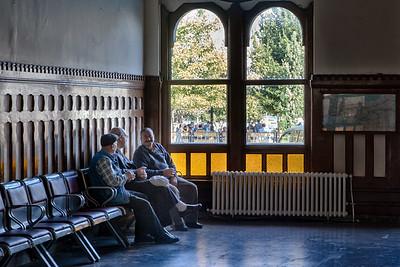Tea Time, Sirkeci Train Station