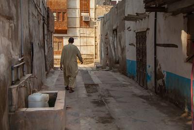 STREET SCENE IN AL BALAD