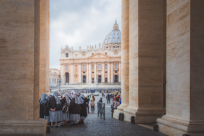 St. Peters Basilica, Vatican City.