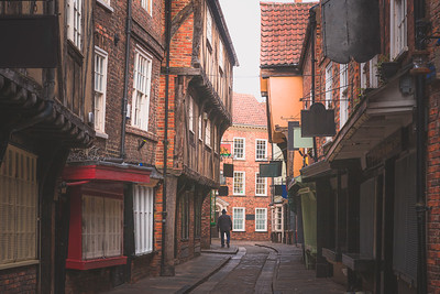 The Shambles. York, England