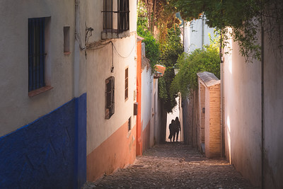 Old Town Granada, Spain.