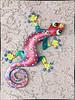 Gecko wall decoration