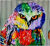 Container Art - Owl