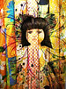 Quilting fabrics rolls and doll and doodles mix