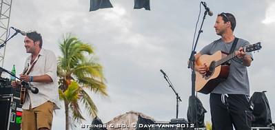 Yonder Mountain String Band - Strings & Sol - 12/12/12 - Dreams Resort & Spa - Tulum Mexico - Photo © Dave Vann 2012