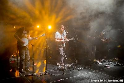 Greensky Bluegrass - Strings & Sol 12/11/13 - Now Sapphire Resort, Puerto Morelos Mexico - Photo © Dave Vann 2013