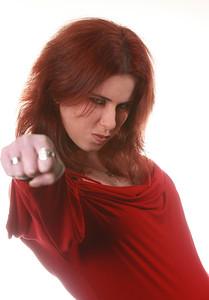 Heidi - wanna fight?
