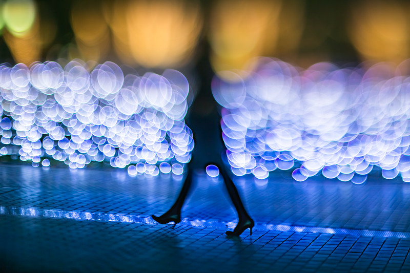 How to walk in the lights