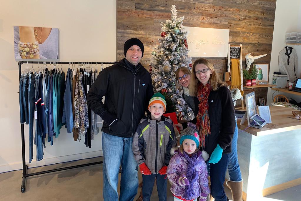 . The Mackey family of Burlington at Wish