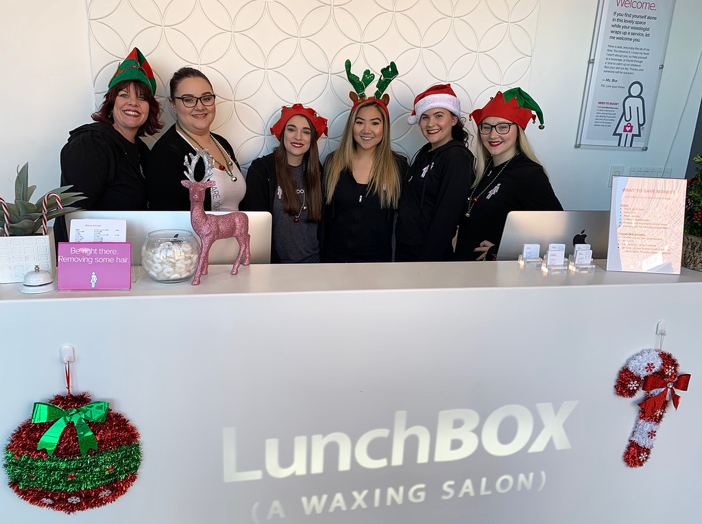 . The ladies of LunchBox (A Waxing Salon)