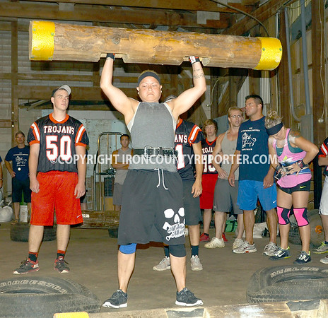 Strong Man Competion  8-1-2015
