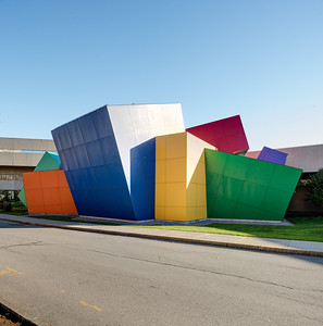 In this photo: exterior view of the Strong National Museum of Play, Rochester, NY. Photo by Brandon Vick, http://www.brandonvickphotography.com/
