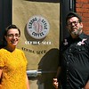 Coffee Shop owners, Kim Jones and Eirean Bradley.<br /> Sentinel & Enterprise / Jim Fay