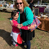 Heather and Maya Soni of Wilmington. Maya loves the farm and takes lessons.