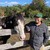 Strongwater Farm horse lover and outstanding volunteer Joshua Kelsey of Dracut