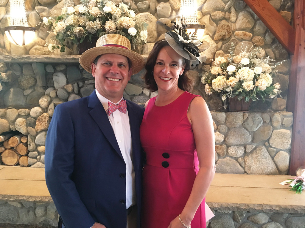 . Tony and Tracy Wiseman of Boston