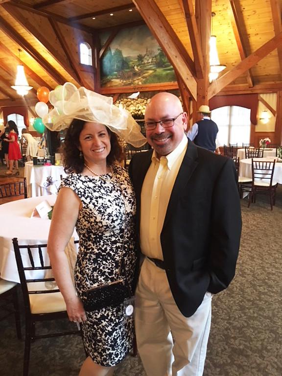 . Leslie Siegel and Scott Weinstein of Watertown