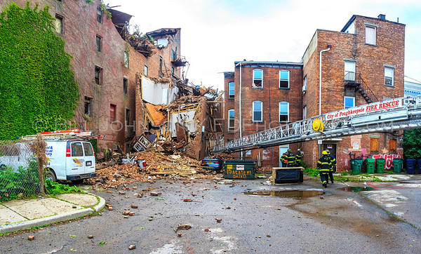 Structural  Collapse - Academy Street - City of Poughkeepsie  FD