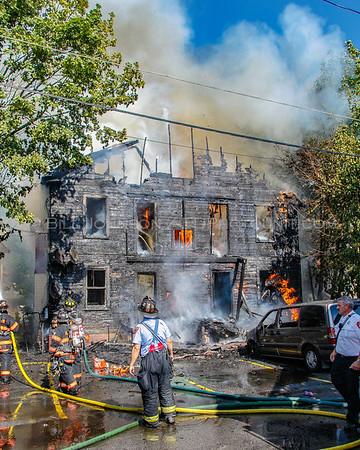 Structure Fire - 12 Lexington Ave - City of Poughkeepsie Fire Department