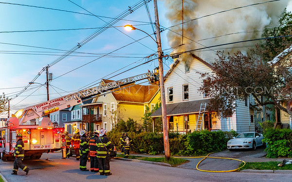 Structure Fire - 13 Harrison Street - City of Poughkeepsie Fire Department - 5/10/2016