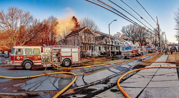 Structure Fire  - 163 North Hamilton St. - City of Poughkeepsie FD. 2/29/16