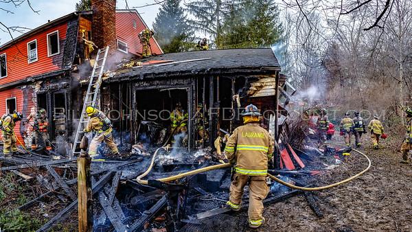 Structure Fire - 17 O'hare  Drive - LaGrange Fire District - 3/5/16