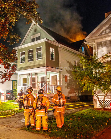 Structure Fire - 172 Mansion Street - City of Poughkeepsie FD - 10/04/2017