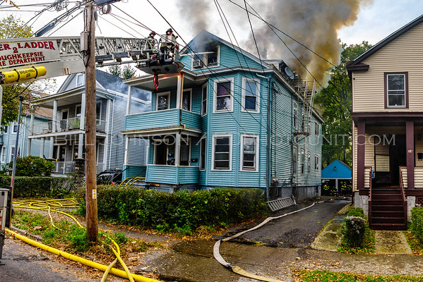 Structure Fire - 21 Hoffman Avenue - City of Poughkeepsie  FD - 10/30/2016