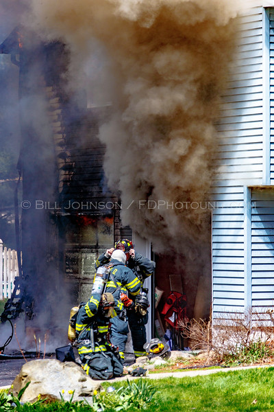 Structure Fire - 25 Marion Avenue - East Fishkill Fire District -  4/16/2016